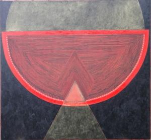 2001-2010, Acryl/Öl auf Nessel, 150x160