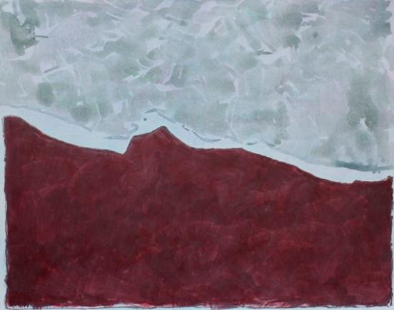 Acryl auf Nessel, 90x110cm, 2012