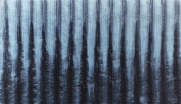 Graphit, Acryl auf Papier auf Nessel, 100x170cm, 2011