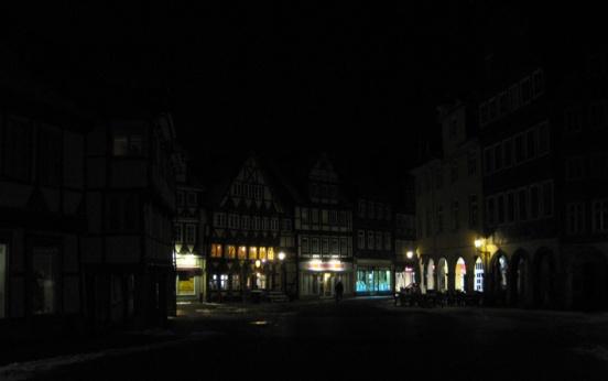 wenig Erleuchtung in Wolfenbüttel