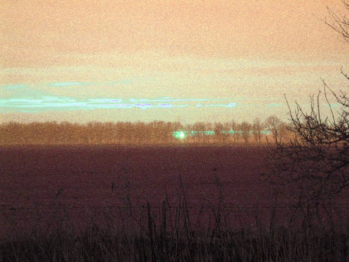 bearbeiteter Sonnenuntergang