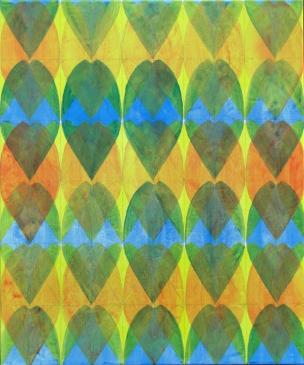 Crescendo 2015, Acryl und Graphit auf Leinwand, 60x50cm
