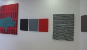 Ausstellung Beisheim/Schierholz/Schildmann im Autohaus Eihusen & Wilken in Norddeich-Norden