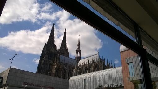 Kölner Dom am 29.4