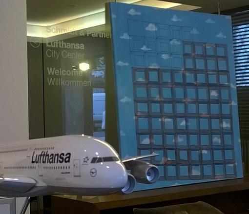 Verunsicherung im Lufthansa CityCenter Kopie